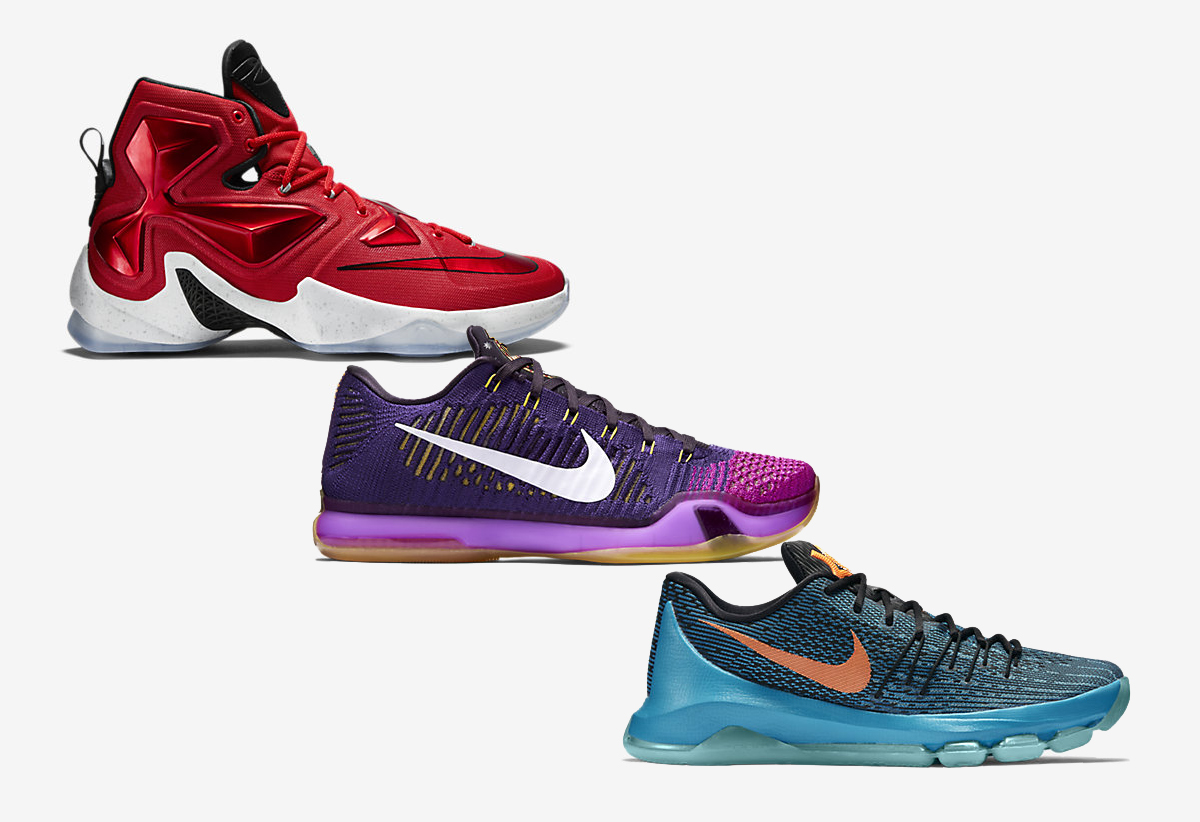 Nike Basketball Away Colorways LeBron Kobe KD