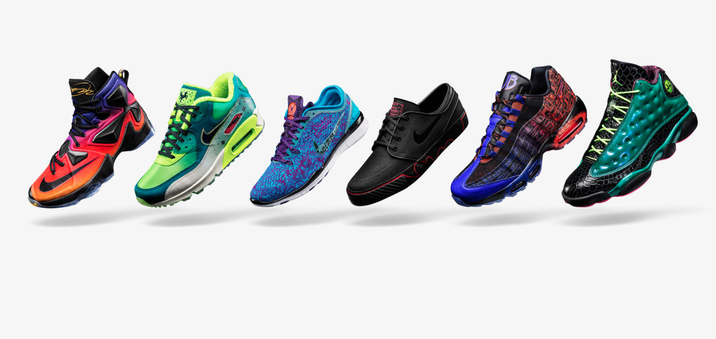 Nike Jordan Doernbecher 2015 Freestyle collection