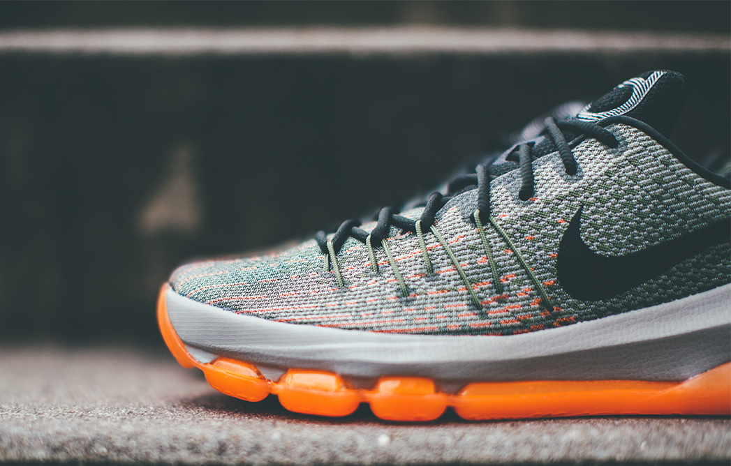 Nike KD 8 'Easy Euro' up close