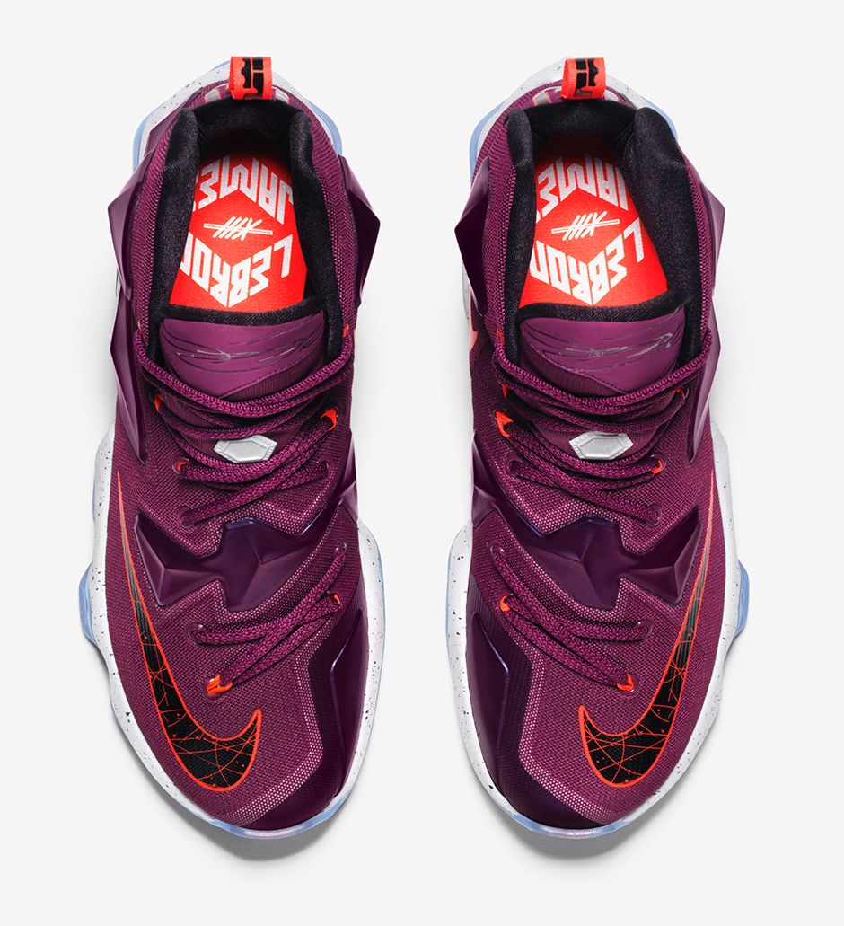 Nike LeBron 13 Written In The Stars top view