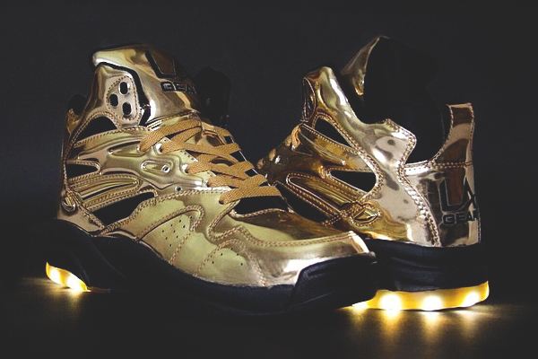 Tyga x LA Gear LA Lights 'Liquid Gold