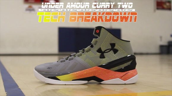 Under Amour Curry Two Tech Breakdown Thumbnail