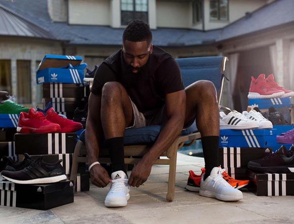 We'll Never See Another Article about James Harden Wearing Nike's Again 3