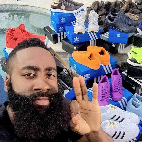 We'll Never See Another Article about James Harden Wearing Nike's Again 4