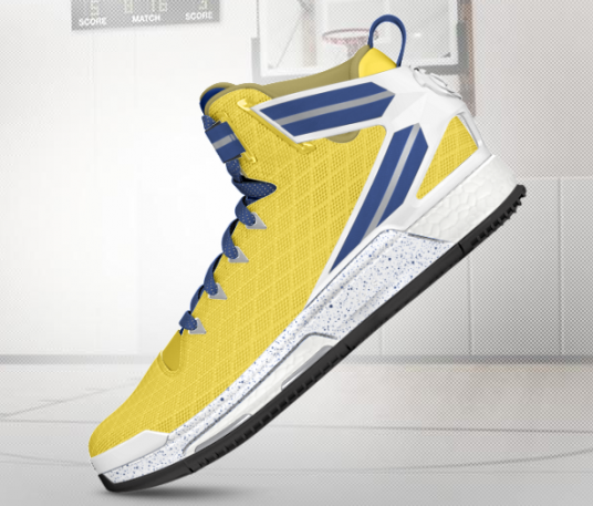 adidas d rose customize