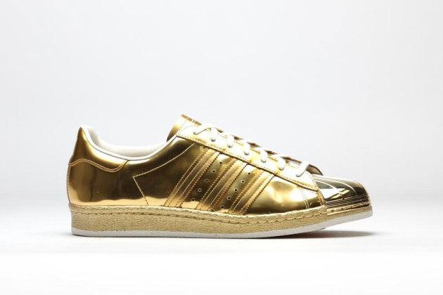 adidas Superstar 80s 'Metallic Gold' 2