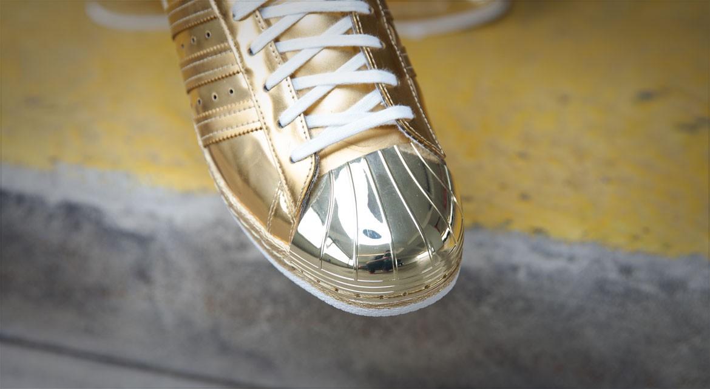 adidas Superstar 80s 'Metallic Gold' toe