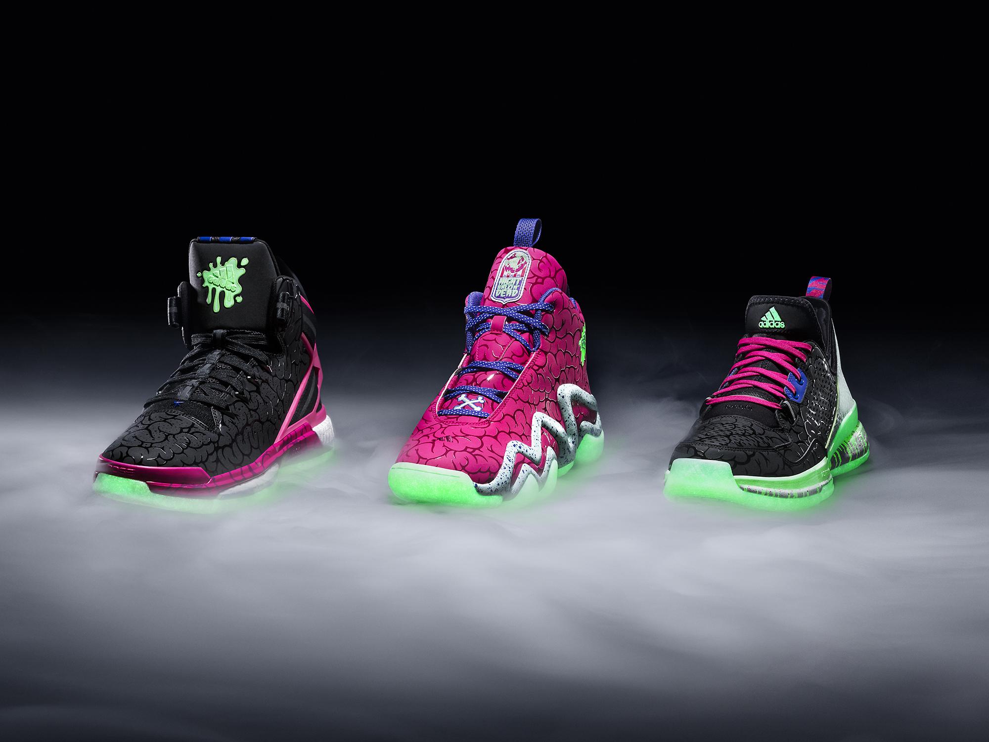 adidas Unveils The 'Ballin' Dead' Halloween Footwear Collection 1