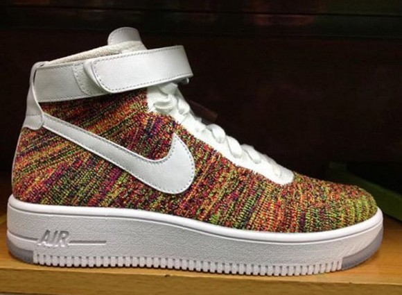 air force 1 flyknit multi