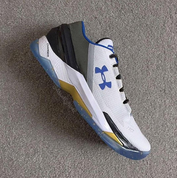 An Under Armour Curry Two Low for the Home Crowd