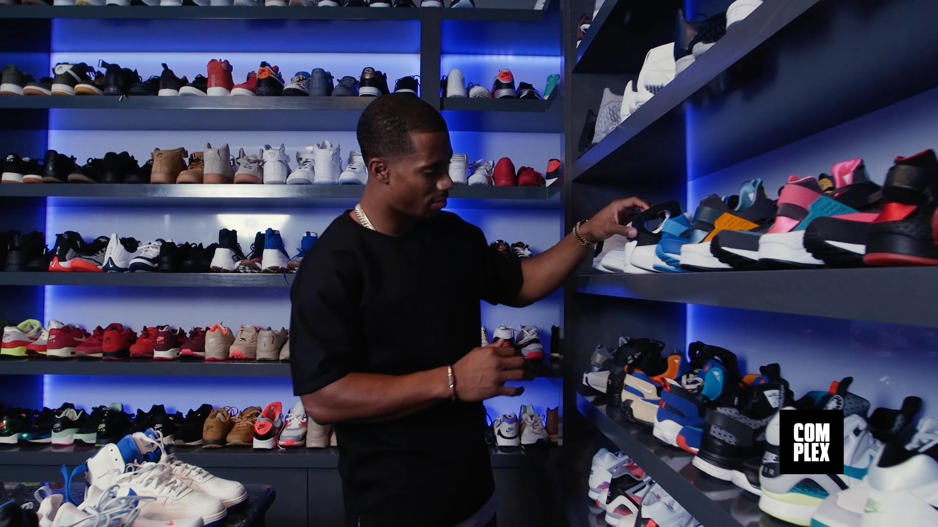 COMPLEX Goes Inside Victor Cruz's Insane Sneaker Closet