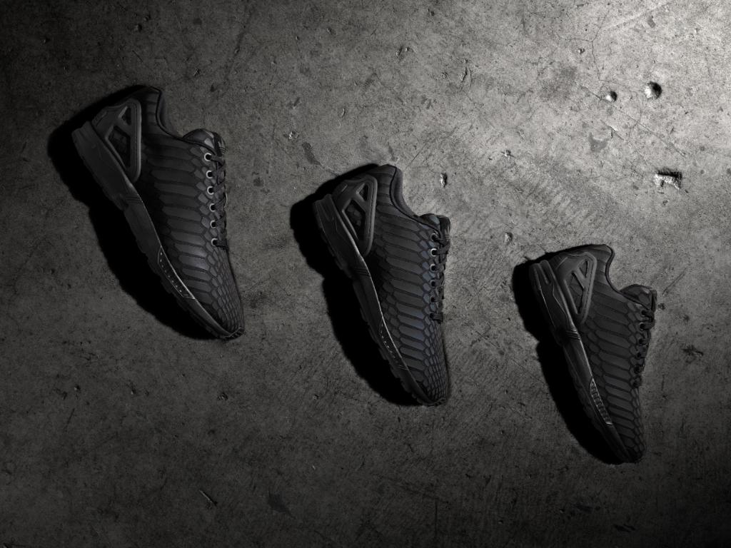 newest 687d1 d2509 adidas Brings Back the Xeno Technology with an All Black ZX ...