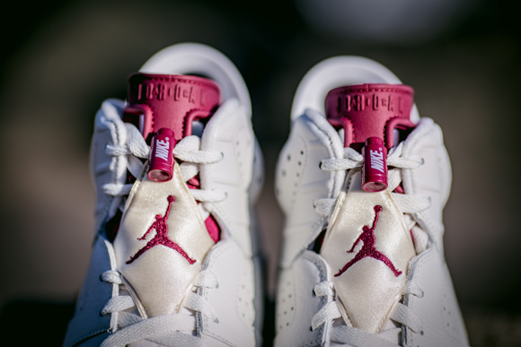 Get Up Close and Personal with The Air Jordan 6 Retro 'Maroon' 4