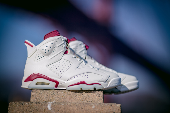 Get Up Close and Personal with The Air Jordan 6 Retro 'Maroon' 9