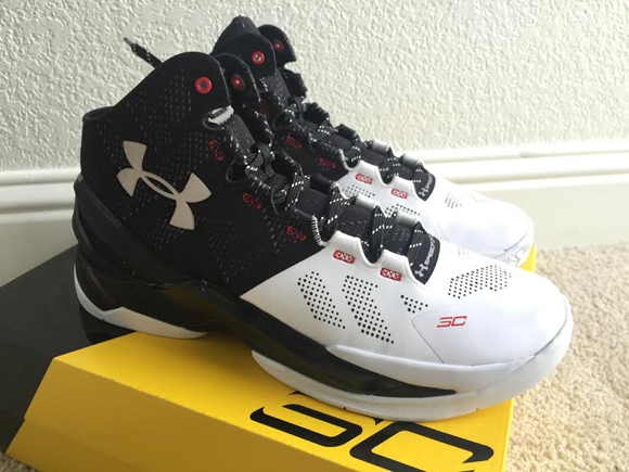 Get a Detailed Look at the Upcoming Under Armour Curry 2 'Suit & Tie' 1