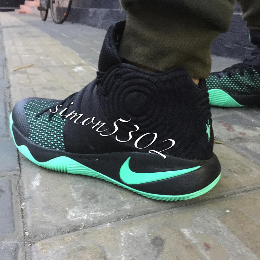 Get a Good Look at The Nike Kyrie 2 in Green Glow 6