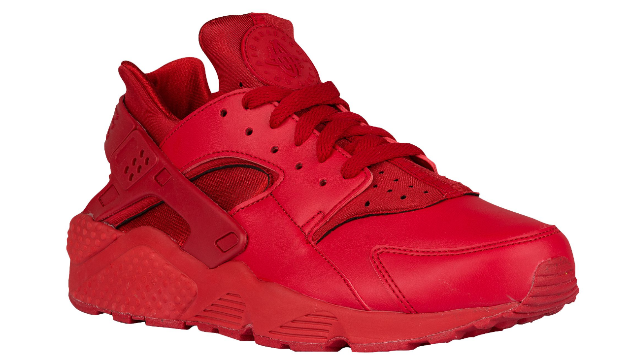 The All Red Nike Air Huarache Releases Online WearTesters