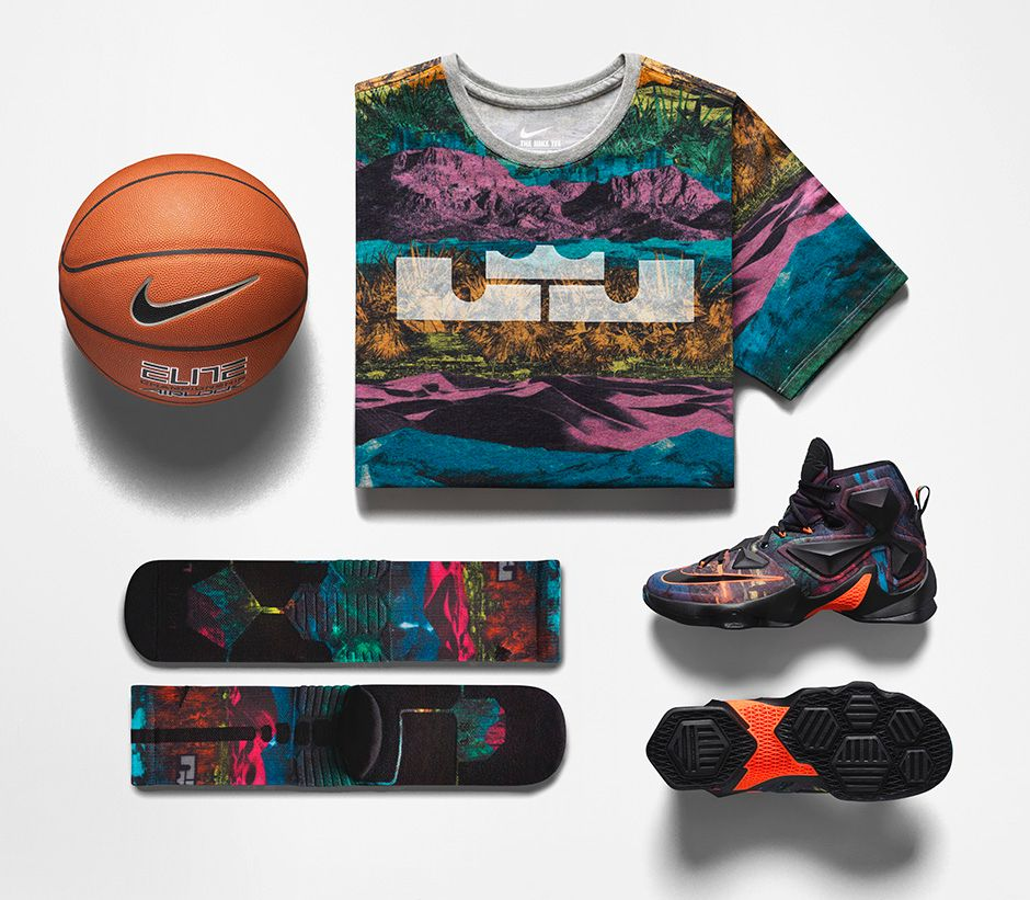 Nike LeBron 13 'Akronite Philosophy' clothing