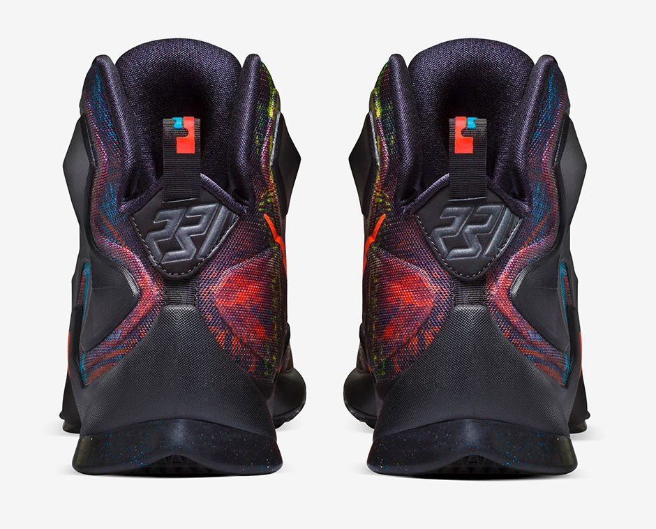 Nike LeBron 13 'Akronite Philosophy' heel