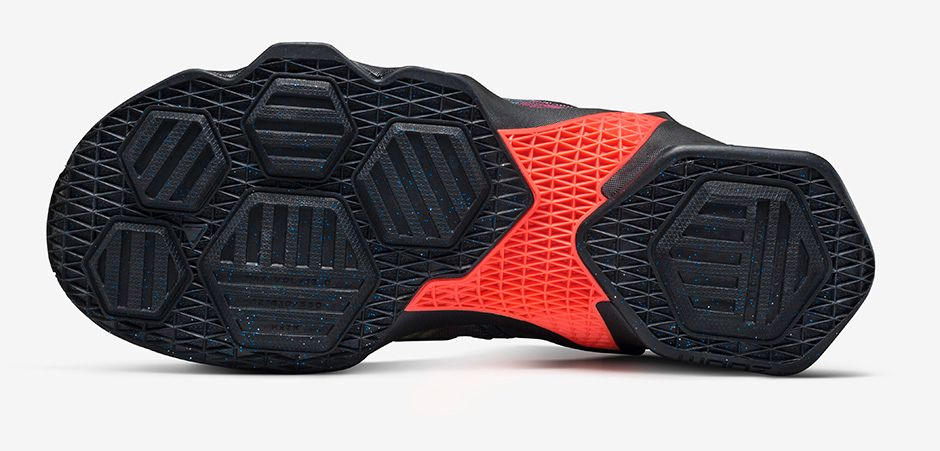 Nike LeBron 13 'Akronite Philosophy' outsole
