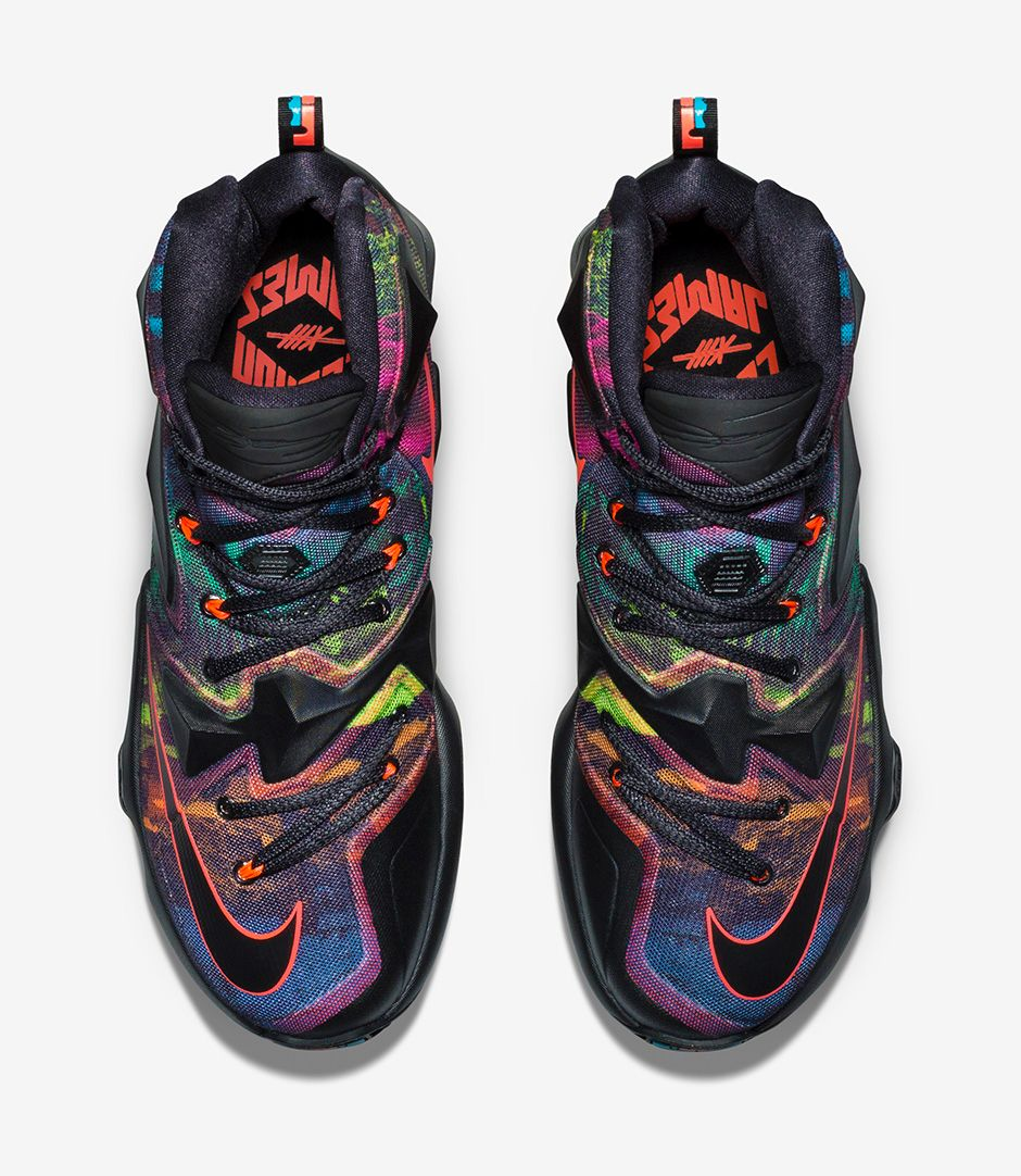 Nike LeBron 13 'Akronite Philosophy' top view