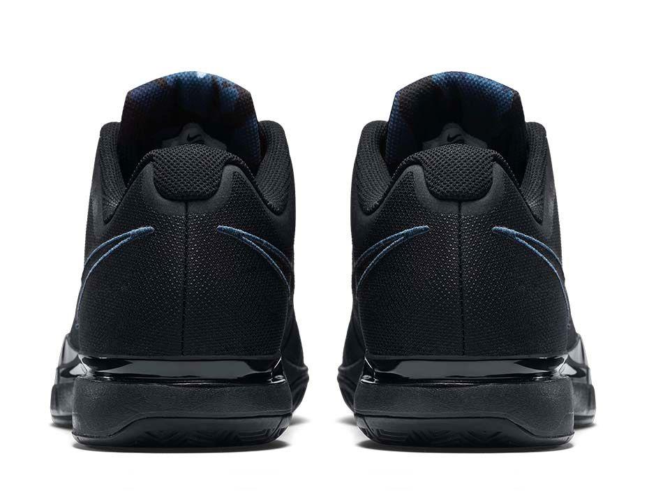 Nike Zoom Vapor 9.5 Camo blue heel