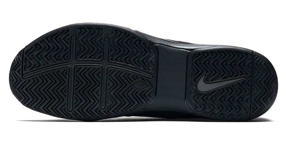 Nike Zoom Vapor 9.5 Camo blue outsole bottoms