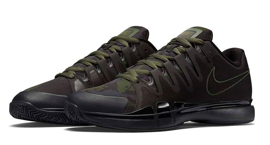 Nike Zoom Vapor 9.5 Camo green 1