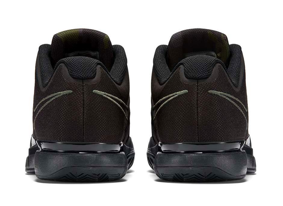 Nike Zoom Vapor 9.5 Camo green heel