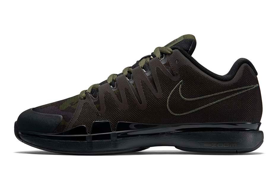 Nike Zoom Vapor 9.5 Camo green lateral
