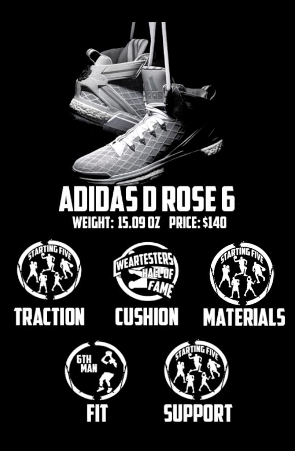 adidas d rose 6 materials