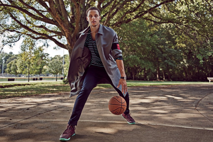Stephen Curry Debuts New Under Armour Curry 2 in GQ Magazine 1