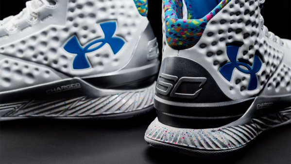 Under Armour Curry One 1 Splash Party 3