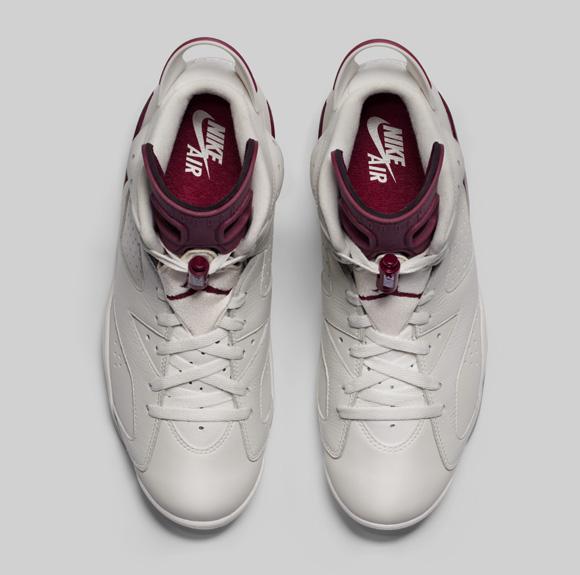 An Official Look at the Air Jordan 6 Retro 'Maroon' 3