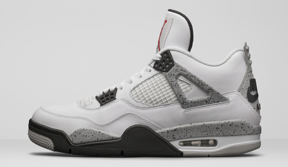 Get an Official Look at the Remastered Air Jordan 4 Retro in White Cement 1