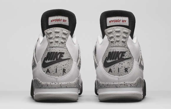 Get an Official Look at the Remastered Air Jordan 4 Retro in White Cement 3