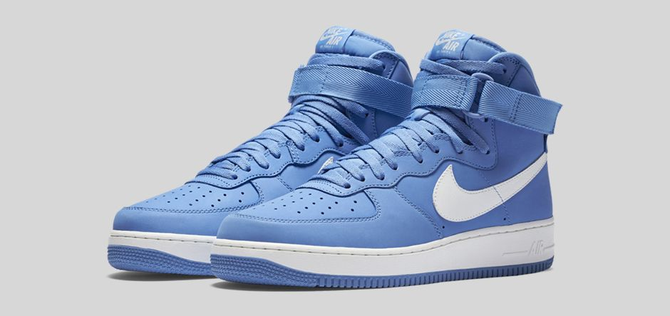 Nike Air Force 1 High 'Carolina Suede'