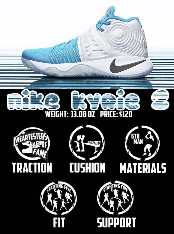 Nike Kyrie 2 Performance Review Score
