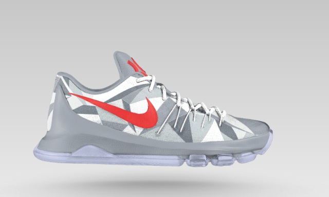The NikeiD KD 8 Has New Graphic Upper-3