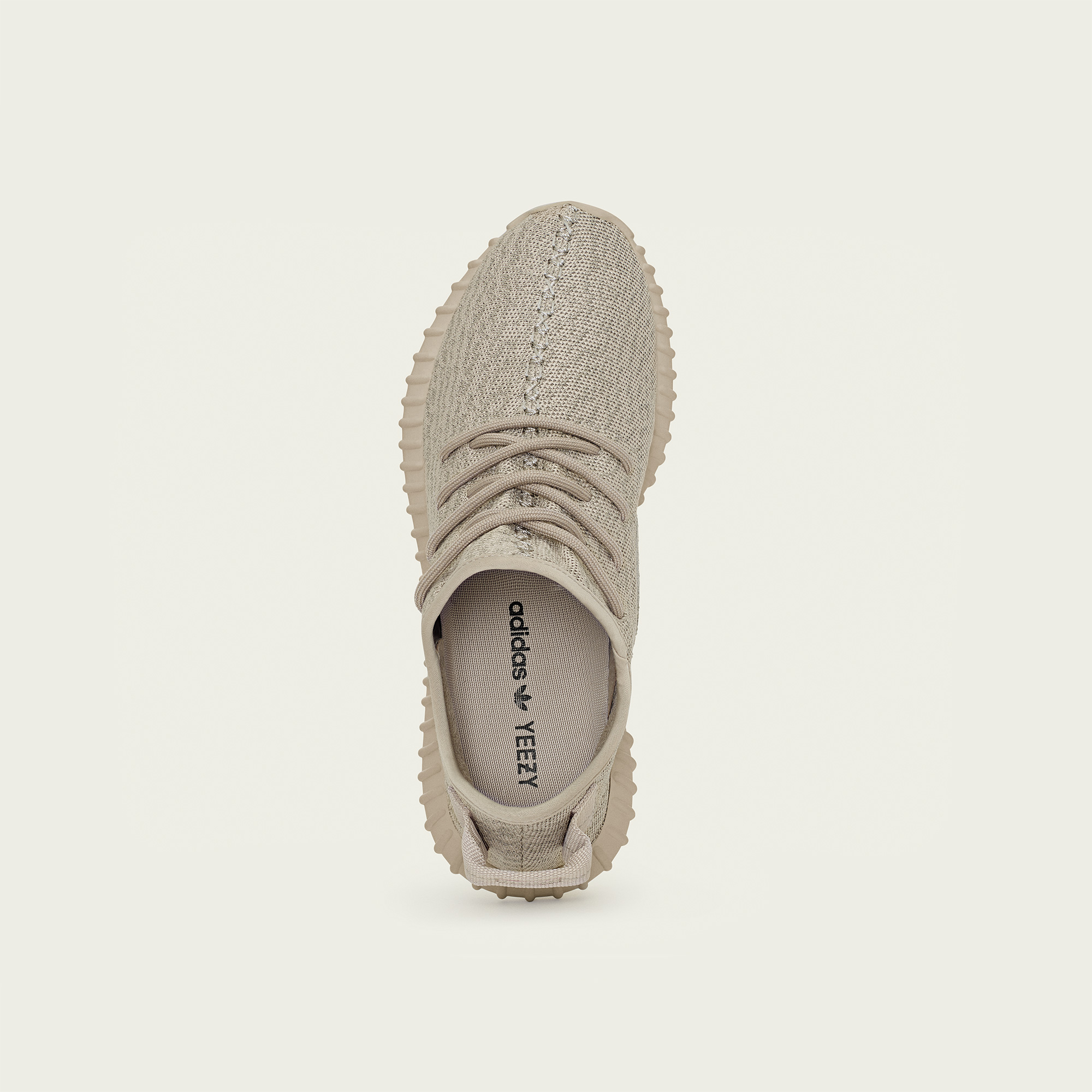 adidas Yeezy 350 Boost Oxford Tan top view
