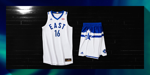 adidas and NBA Unveil NBA All-Star Uniforms for 2016 6