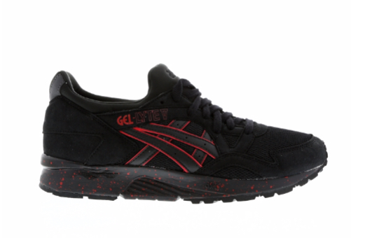 official photos 9d77f fed6b asics gel-lyte v black red 4 - WearTesters