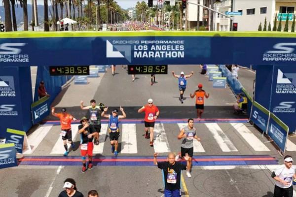 fitbit la marathon 1