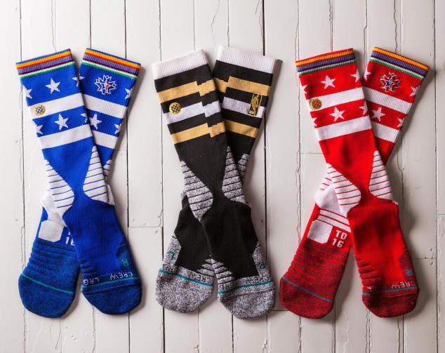 Stance Unveils the Official Socks of the 2016 NBA All-Star Game-2