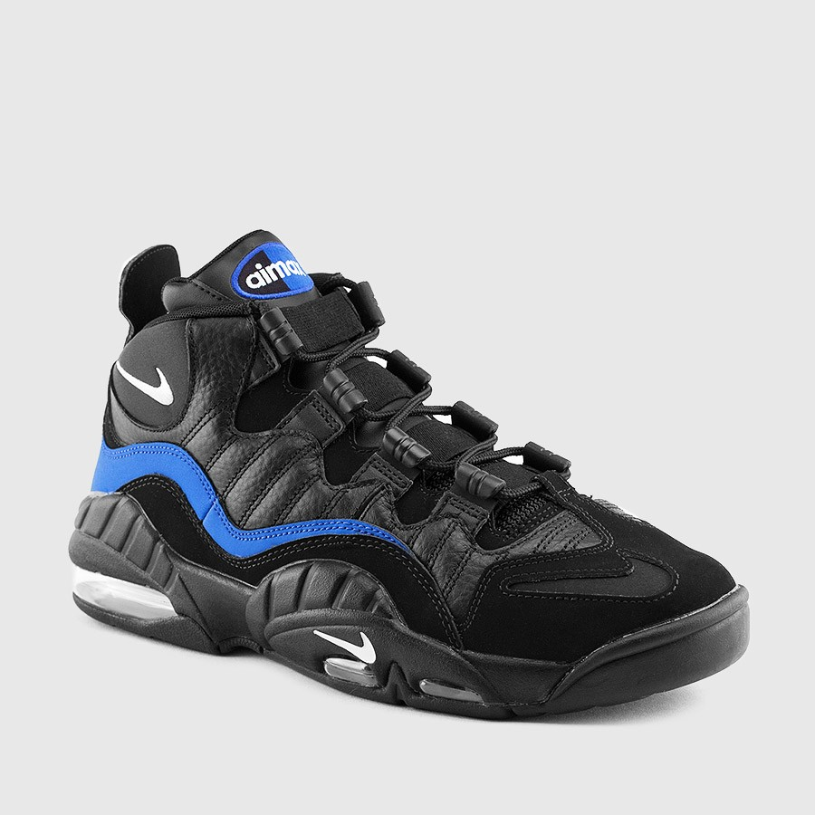 The Nike Air Max Sensation in Black Royal is Available Now 1