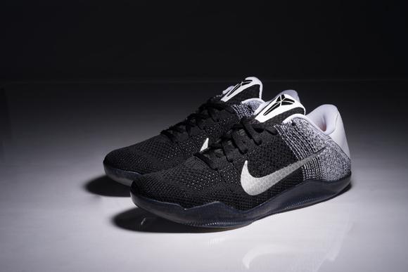 The Nike Kobe 11 Looks Beautiful in Black White 11