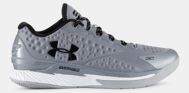 Under Armour Curry One Low Grey Graphite 1