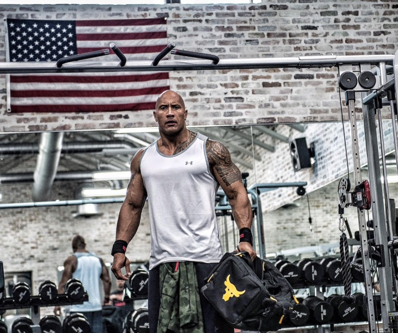 Under Armour dwayne johnson 1