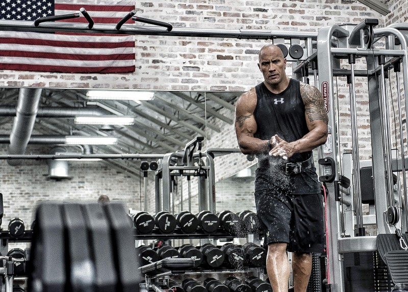 Under Armour dwayne johnson 2