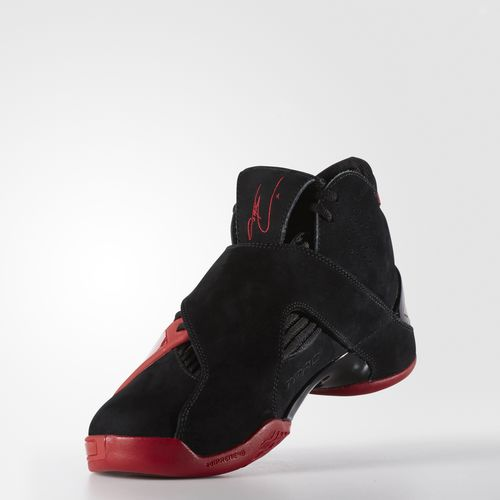 adidas T-Mac 5 Retro is now available in Black: Red 4